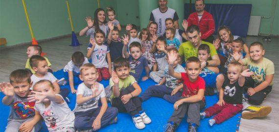 """CER pomaže """"Školicu sporta"""" za mališane"""